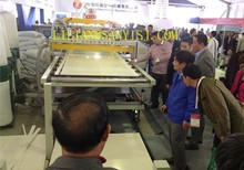 new arrived 350-400kg/h New type WPC foam sheet making machine CE ISO9001