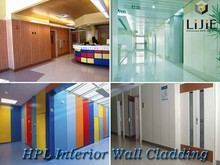 LIJIE Cheap Phenolic advance wall cladding extremely constraction material hpl panel for building hospital hotel school