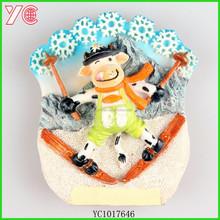 YC1017646 2015 newest items novelty gift wholesale fridge magnet polyresin souvenir