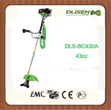43cc two stroke grass cutter with metal blad or nylon blade