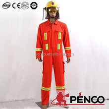 Aramid fire retardant coverall, protective clothing for fire fighting, safety equipment