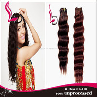 2015 New Products Wholesale glueless deep wave weave 100% human hair weave virgin brazilian hair