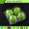 Custom Clear clamshell plastic fruit containers