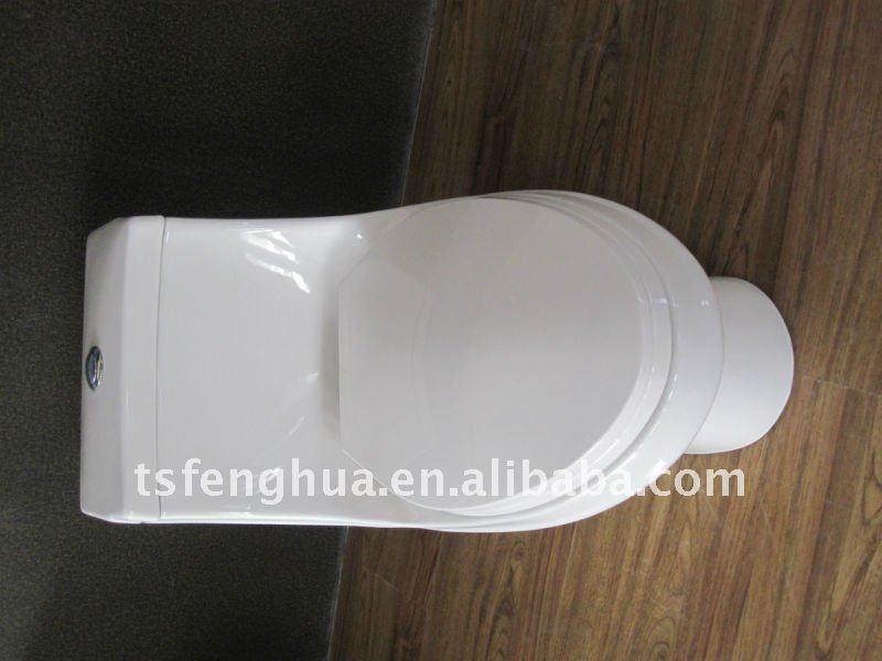 FH8813 Sanitaryware Ceramic One Piece Toilet