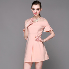 Wholesale OEM one shoulder casual dress sexy plus size club dresses jewish homecoming dress