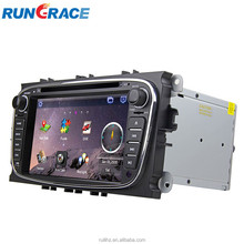 wince 6.0 ford mondeo car gps navigation with bluetooth tv