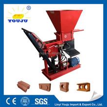 eco brava manual brick press cement interlock design for sale