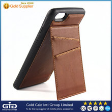 [GGIT] New Nroduct Inovative Phone Case For Iphone 6 With Stand And Insert Card Style Also PU Leather