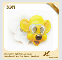 PVC Novelty Party Mask, 3d Animal mask for Christmas Party