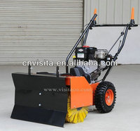 Gasoline Powered Street Sweeper with Snow Blade (GS6580)