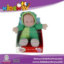 Algodón hecho a mano muñeca de trapo muñeca