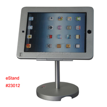 security holder for iPad/ tablet specialized frame mount /metal case lock bracket/Aluminium lockable safety stand