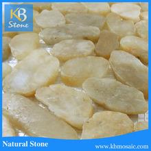 Yellow Polished Stones,natural pebble,polished stone
