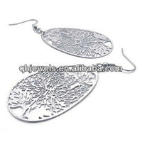 Vintage cheap stainless steel earrings free worldwide shipping