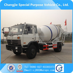 dongfeng 5 cbm mini mixer truck for sale