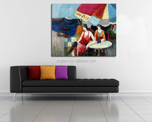 New arrival oil painting canvas large size