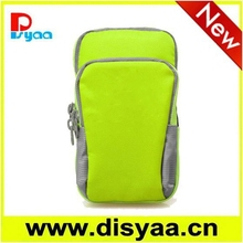 New neoprene with nylon sport arm band bag for mobile phone
