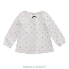 Fashion Baby Girls Cotton High Quality T-shirt