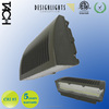 outdoor wall lighting 52W LED Wall Pack Full Cut Off 110-277V,cETLus and DLC listed