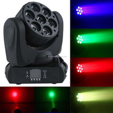 Superior Color Mixing Led 7pcs professional stage night club
