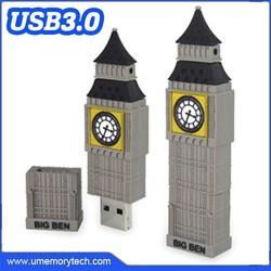 Church shaped flash memory drive funny usb flash funny thumb flash drive full capacity