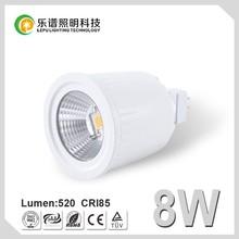 RoHS CE Sharp COB UNIQUE Lamp Bulb Light MR16 12V Dimmable CRI 85Ra CCT Options 8W LED Spot Light LED Lamp MR16