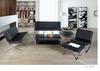 ZC-31 Bacerlona Style Lounge Modern Leather Office Sofa