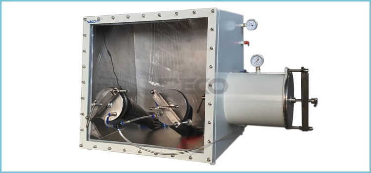 Full View Lab Vacuum Glove Box for Lithium Battery Manufacturer
