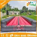 Venta caliente populares y duable inflable pista caída/de aire inflable pista de gimnasia/inflable esteras/alfombrillas gimnasio
