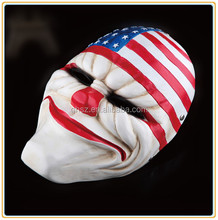 Custom halloween party Payday 2 adult masks manufacturer