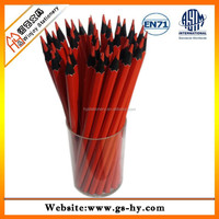 kids drawing tools red lead round black wood color pencil