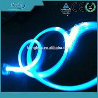PMMA fiber optic modern led ceiling lamp