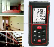 Compacto medidor de distancia láser digital, telémetros láser, construcción de herramientas de nivel