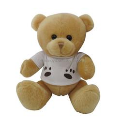 Hot-sale small mini stuffed plush soft 6cm 8cm 10cm grey teddy bear