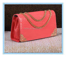 wholesale cheap school red leather mini summer clutch messenger bag fashion shoulder bags for girls 2014
