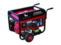 hot saling 5kw Gasoline & lpg Generator with Air-cooled 4-stroke engine / power generator natural gas