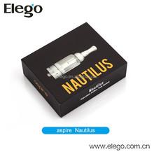 Original aspire nautilus 5ml Stainless Steel and Glass Tanks Aspire Nautilus