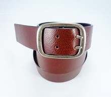New design Fashion High Quality Genuine men split leather belt