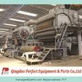 máquina de papel reciclado y papel higiénico de la máquina