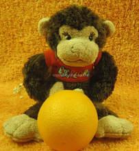 2016 New Year Mascot Plush Stuffed Animal Keychain Monkey / Plush Monkey Toy For Souvenir/ Plush Monkey Toy Stuffed