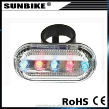 2015 hot sale china factory 5 light led bicycle