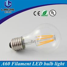 AC120V 220V 4W 6W 8W Retro Filament LED Bulb e27, dimmable filament led lamps