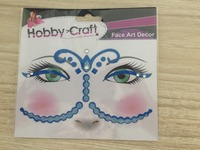 High Quality Decorated Eyes Tattoos,Wholesale Eyeliner Sticker,Wholesale Eye Art