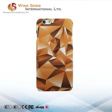 Heat transfer printing crystal art mobile phone case for iphone 6s