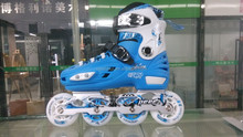 Inline Sport Skate Shoes with 4 wheels no retractable button