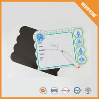 Famous manufacturer writable magnetic board reusable refrigerator magnet memo board