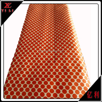 Jacquard polyester material for necktie;