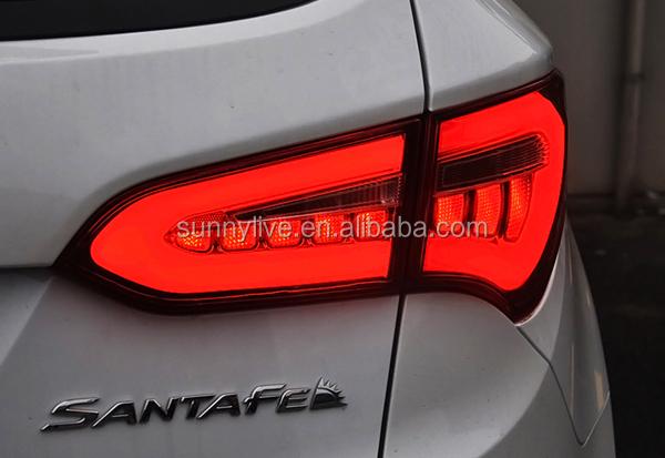 2013 2014 year for hyundai new santa fe ix45 led strip tail light ix45 led yz aloadofball Images
