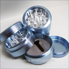esmeriles hierbde plástico/zinc/de aluminio, manual de metal grinder hierba, mango de aleación de zinc amoladoras/moledoras