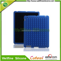 """Blocks design 10.1"""" tablet silicone case with silicone screen cover"""